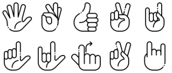 Deaf alphabet