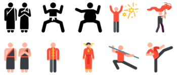 China pictograms