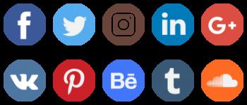 Social Network Logo Collection